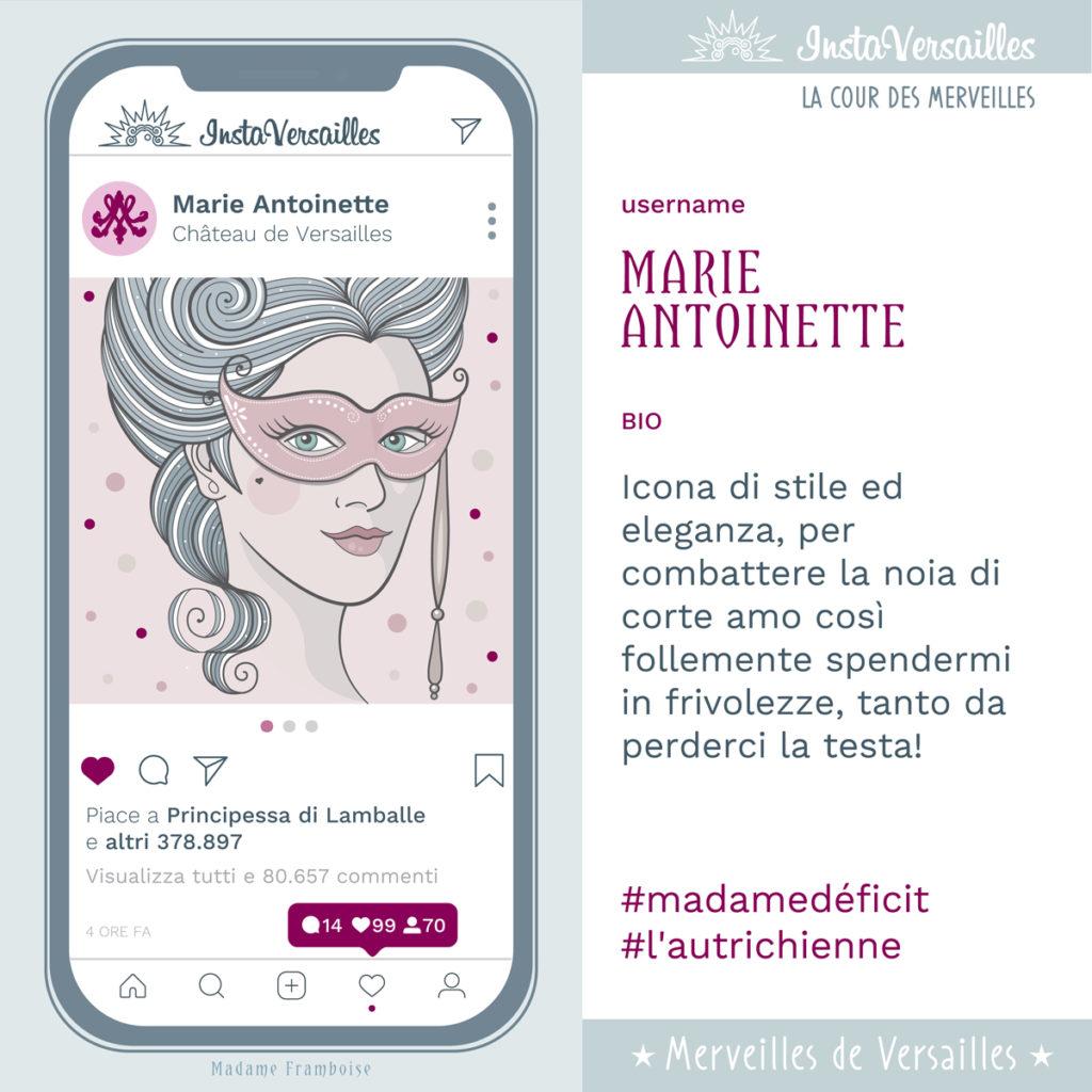 InstaVersailles Maria Antonietta