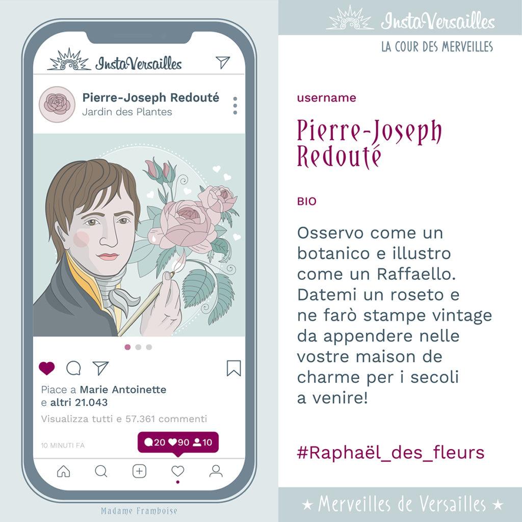 Instaversailles Pierre Redouté