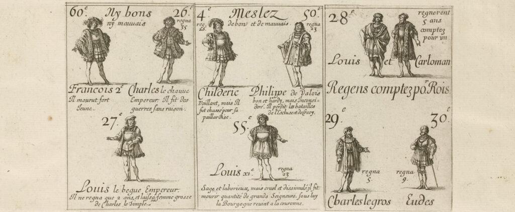 CARTE DA GIOCO RE - LUIGI XIV